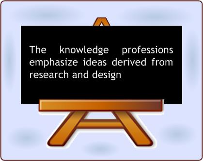 Knowledge Professions