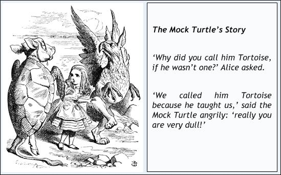 Mock Turtle Questions