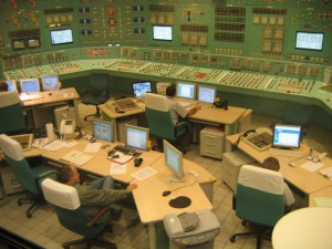 Paks Nuclear Power Control Room